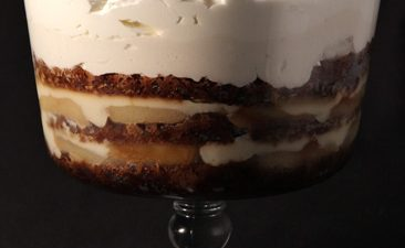 Pear & Ginger Trifle
