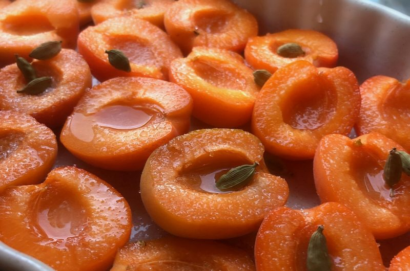Apricot Crème Brulée