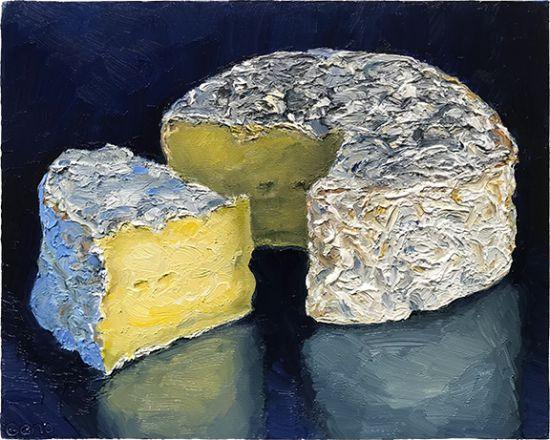 Tunworth Cheese Painting